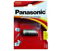 PILA 3V LITIO CR123A PANASONIC