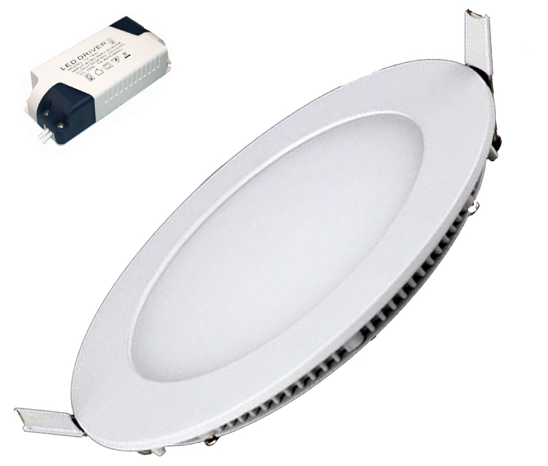 DOWNLIGHT LED BLANCO REDONDO 18W 6400K