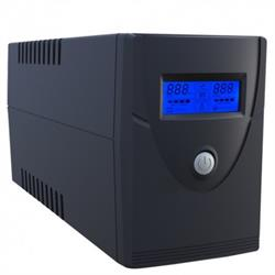 SAI 600VA/360W DISPLAY LCD, SOFTWARE MONITOR, USB SAFIRE