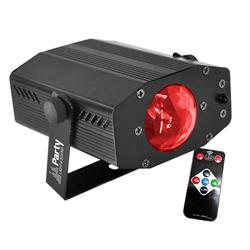 EFECTO LUZ LED RGB 3W PARTY-MINIWAVE PARTY LIGHT&SOUND