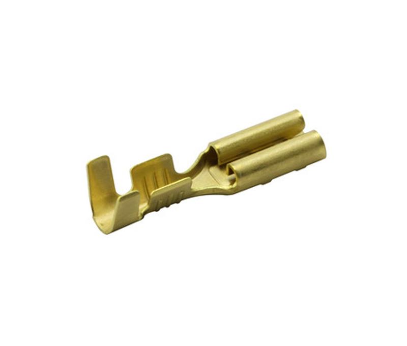 10 x Conector  faston 2,8mm hembra