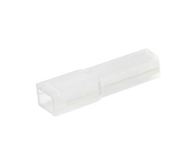 FUNDA TERMINAL FASTON HEMBRA 2.8 mm TRANSPARENTE